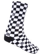 Men - Checker Crew Socks