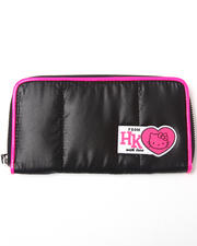 Hello Kitty - Quilted Puff Zip Wallet