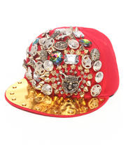 Hats - Bejeweled Snapback Hat