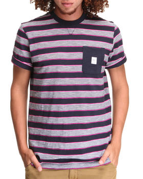 Parish - Stripe Pocket Tee