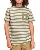 Men - Stripe Pocket Tee
