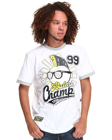 - HOMERUN COTTON RINGER TEE
