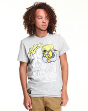 T-Shirts - WOODY COTTON GRAPHIC TEE