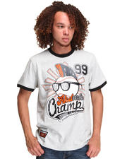 T-Shirts - HOMERUN COTTON RINGER TEE