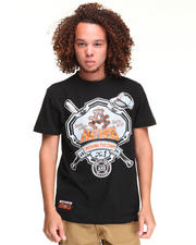 T-Shirts - HANK COTTON GRAPHIC TEE
