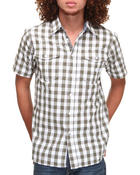 Men - Gingham S/S Button-down
