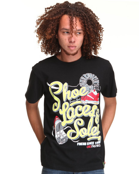 - FOOT LOOSE COTTON GRAPHIC TEE