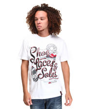 T-Shirts - FOOT LOOSE COTTON GRAPHIC TEE