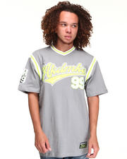 T-Shirts - BIG LEAGUE JERSEY W/ APPLIQUE
