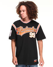 Men - BIG LEAGUE JERSEY W/ APPLIQUE