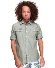 Shirts - CLARK SHORT SLEEVE CHAMBRAY SHIRT