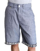 Parish - Oxford Shorts w/ Tribal Twim