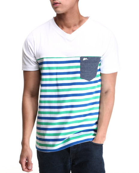 A Tiziano Men White Peter T-Shirt