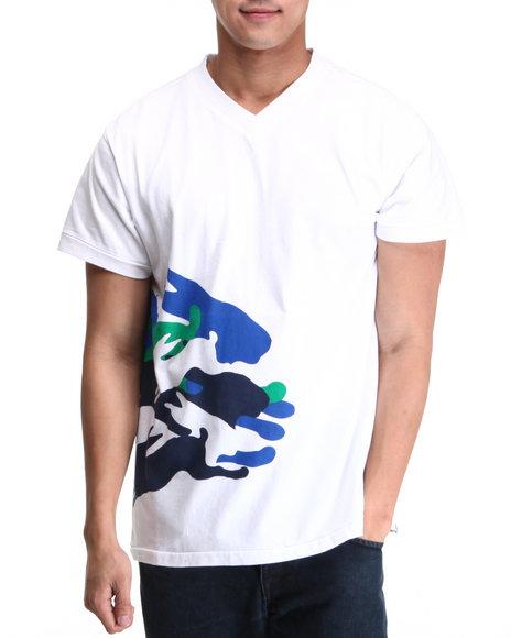 A Tiziano Men White Sammy T-Shirt