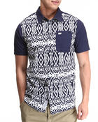 Button-downs - Tribal Print S/S Button-down