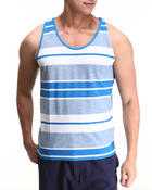 Men - Striped Tank Top