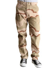 DRJ Army/Navy Shop - Tri Desert Camo 4 Pocket Slim Fit Chino Pants