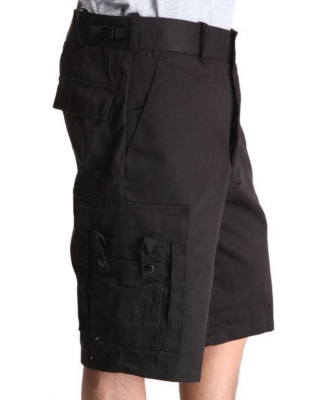 Rothco Black Emt Cargo Shorts