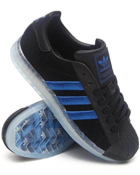 Adidas Men Black Superstar Clr Ice Sole Sneakers