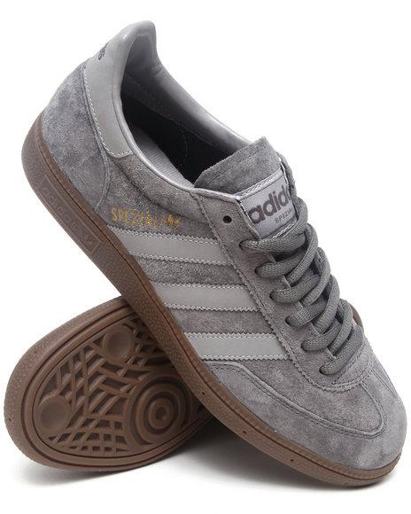 Adidas Men Grey Spezial Sneakers