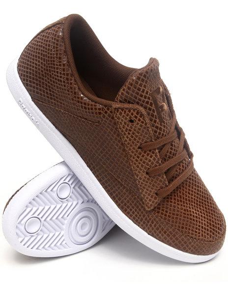 Reebok Men Brown Sl Berlin Deck Sneakers