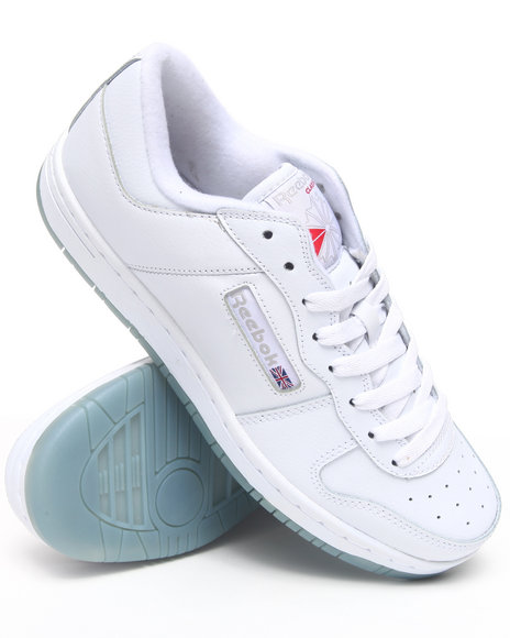 Reebok Men White Royal Reeamaze Ice Bottom Sneakers