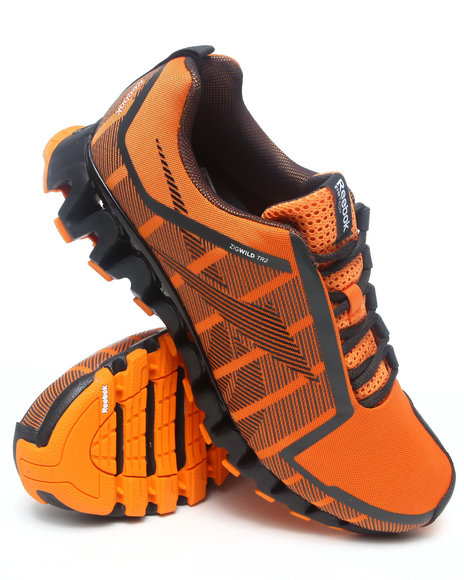 Reebok Men Orange Zigwild Tr 2 Sneakers