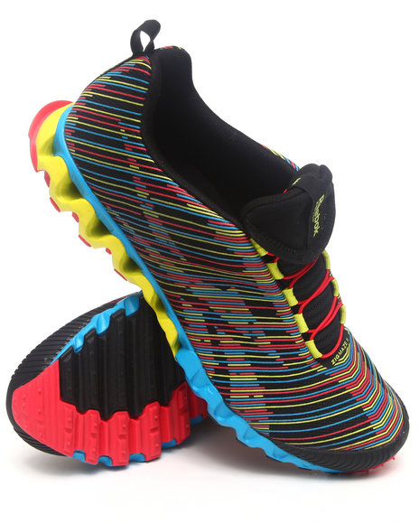 Reebok Men Black Zigmaze Ii Sneakers