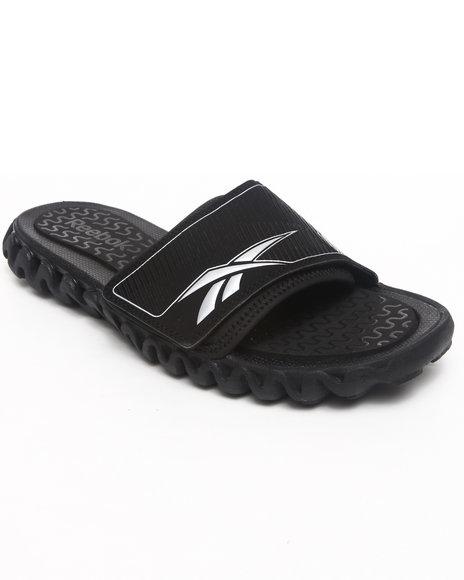 Reebok Men Black Zig Nano Slide Ii Sandals