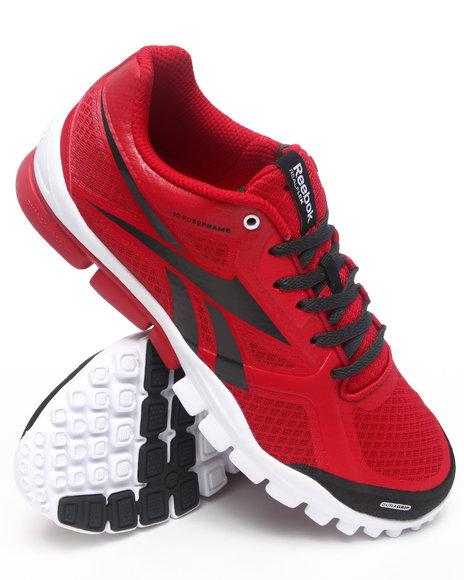 Reebok Men Red Trainflex Sneakers