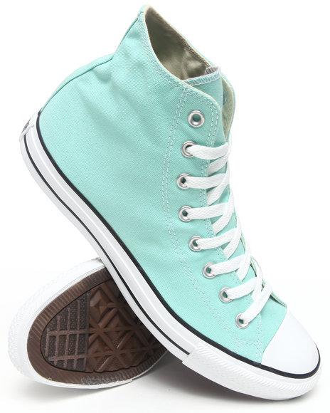 Converse Men Teal Chuck Taylor Hi Sneakers