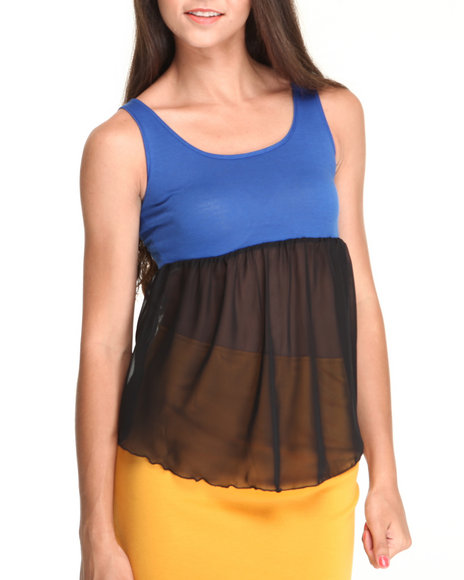 Fashion Lab - The Color Blocked Tank Top