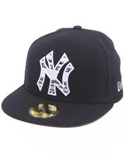 Fitted - New York Yankees Pattern Fill hat