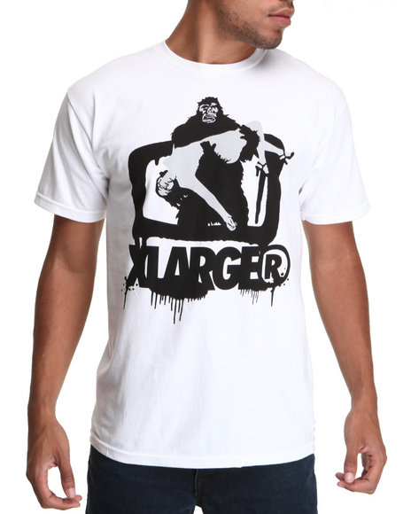 X-LARGE White Get Sprayed Tee