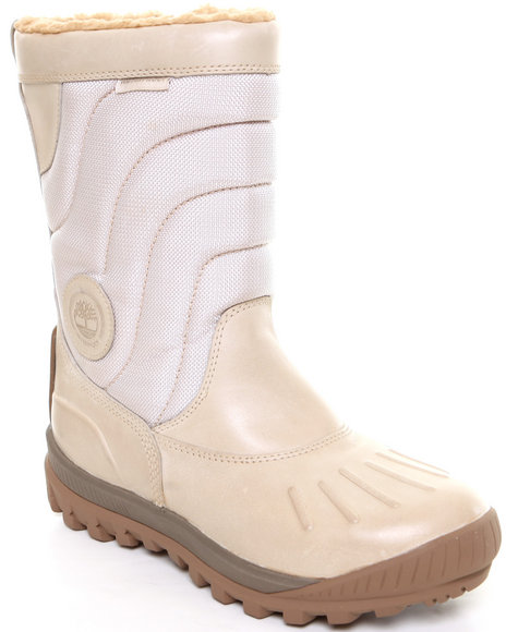 Timberland Women White Earthkeepers Mount Holly Duck Boots