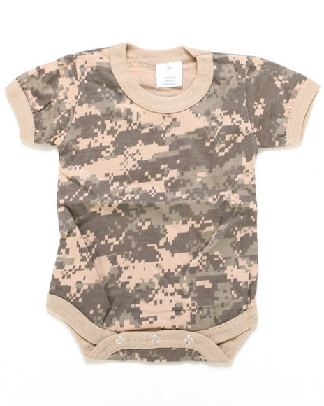 DRJ Army/Navy Shop - Digital Camo Bodysuit (Infant)