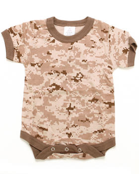 DRJ Army/Navy Shop - Desert Digital Camo Bodysuit (Infant)