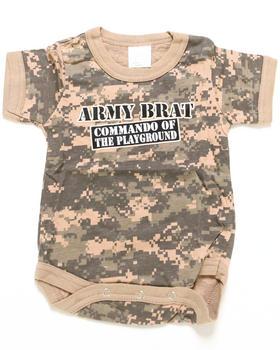 DRJ Army/Navy Shop - Army Brat Bodysuit (Infant)