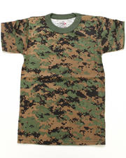 Sizes 8-20 - Big Kids - Digital Camo Tee (8-20)