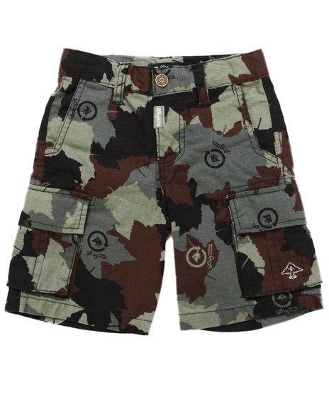 LRG Boys Camo Cargo Shorts (2T-4T)