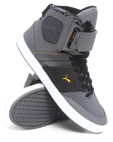 Puma Men Grey El Solo Hi Sneakers