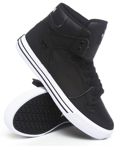 Supra - Men Black Vaider Black Gunny Tuf Sneakers