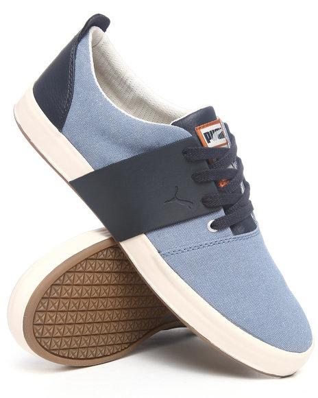 Puma Men Navy El Ace 3 Cham Sneakers