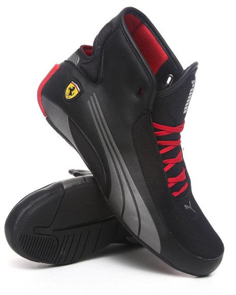 Puma Men Red Alekto Mid Sf Ferrari Sneakers
