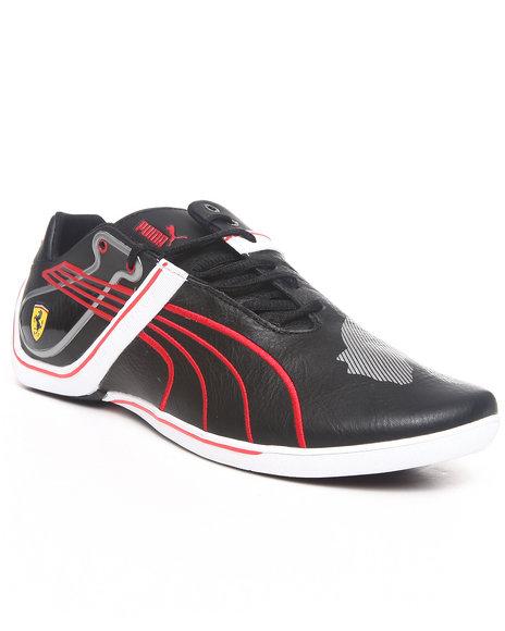 Puma Men Black Future Cat Remix Lo Sf Ferrari Sneakers
