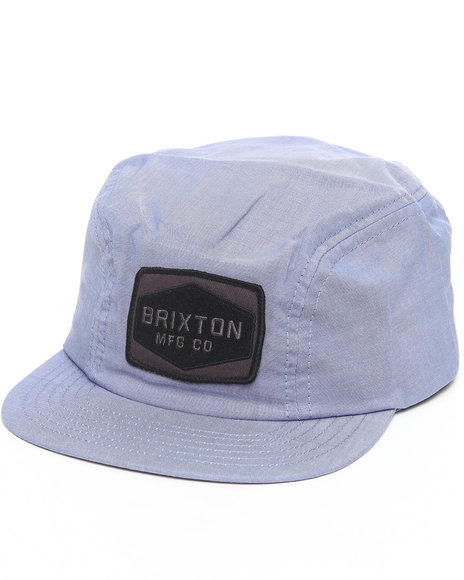 Brixton Blue Mill Two Panel Cap