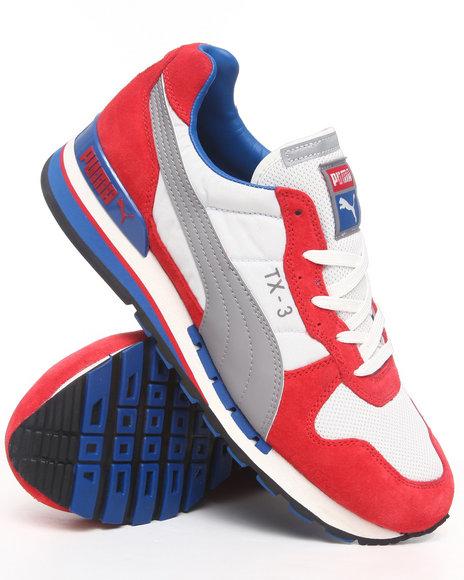 Puma Men Red Tx 3 Sneakers