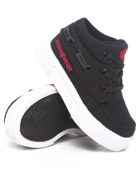Rocawear Boys Black Roc The Boat Sneaker (Infant)