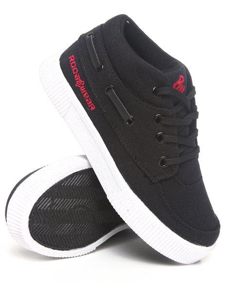 Rocawear Boys Black Roc The Boat Sneaker (11-3)