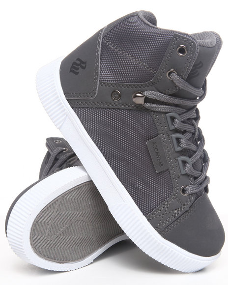 Rocawear Boys Grey City Roc Hi Sneaker (11-3)